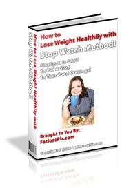 How to Lose Weight Healthily with Stop Watch Method ! (MRR) | eBooks | Health