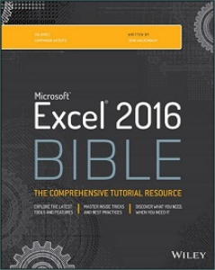 excel 2016 bible -  john walkenbach
