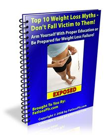 Top 10 Weight Loss Myths | eBooks | Health