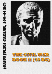 the civil war - book ii (49 bc)
