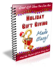 Holiday Gift Giving Made Easy With Master Resale Rights | eBooks | Internet