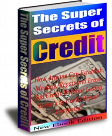 The Super Secrets Of Credits - With Private Labels Rights | eBooks | Business and Money