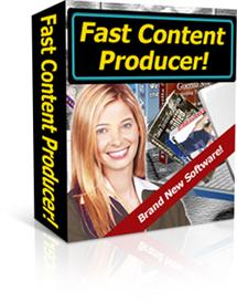 Fast Content Producer - With Private Lables Rights | eBooks | Arts and Crafts