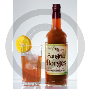 Borges Bottle with Glass High Res | Photos and Images | Food