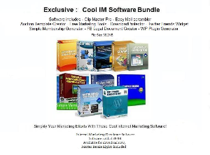 software bundle with resale rights