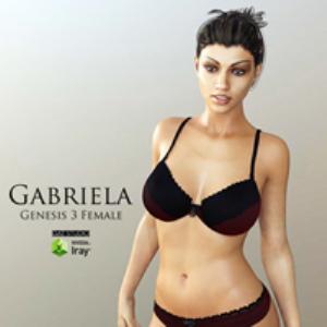 Gabriela for Genesis 3 Female | Software | Design