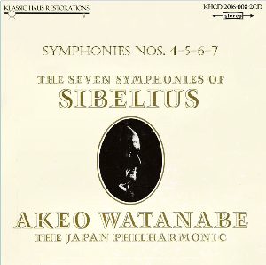 Sibelius: Symphonies Nos. 4-5-6-7 - Japan Philharmonic Orchestra/Akeo Watanabe | Music | Classical