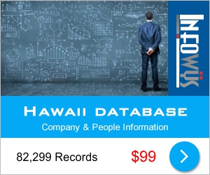 Hawaii Database: Companies & People | Other Files | Everything Else