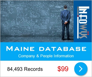 Maine Database: Companies & People | Other Files | Everything Else