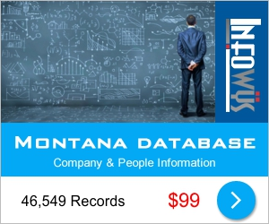 Montana Database: Companies & People | Other Files | Everything Else