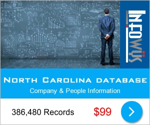 North Carolina Database: Companies & People | Other Files | Everything Else