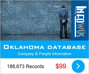 Oklahoma Database: Companies & People | Other Files | Everything Else