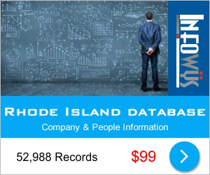 Rhode Island Database: Companies & People | Other Files | Everything Else