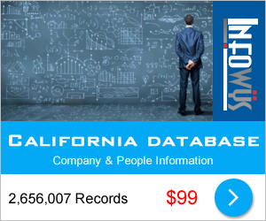 California Database: Companies & People | Other Files | Everything Else