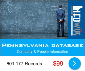 Pennsylvania: Companies & People Database | Other Files | Everything Else