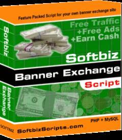 Softbiz Banner Exchange v1.0