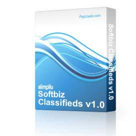 Softbiz Classifieds v1.0