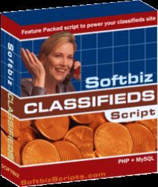 Softbiz Online Classifieds PLUS php script