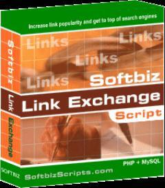 Softbiz Reciprocal Link Exchange v1.0 php script