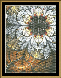 Fractal Unlimited 16 | Crafting | Cross-Stitch | Wall Hangings