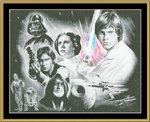 Star Wars | Crafting | Cross-Stitch | Wall Hangings