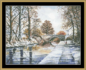 Early Fall At Morimers Bridge | Crafting | Cross-Stitch | Other