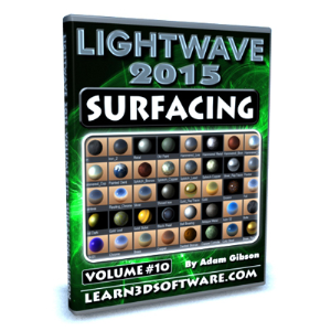 Lightwave 2015 -Volume #10- Surfacing for Beginners | Software | Training