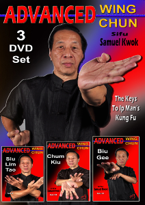 advanced wing chun  3 volume set vol-9-10-11 by sifu samuel kwok