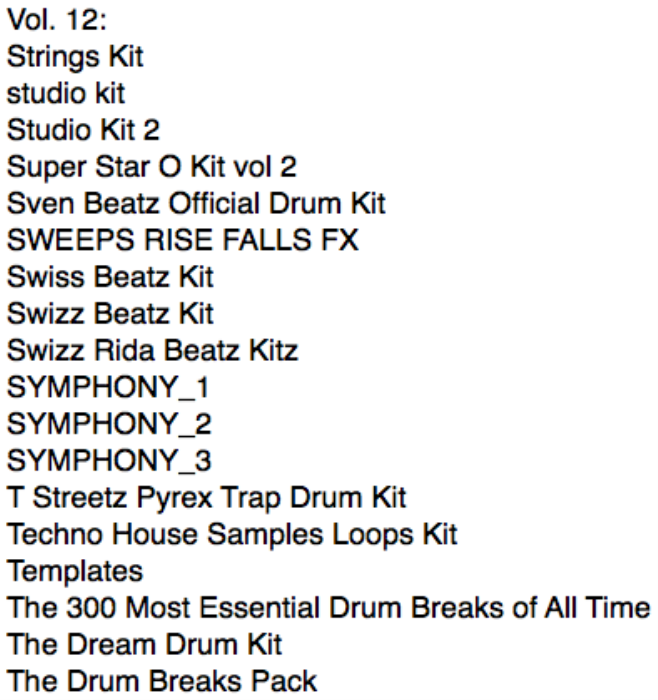 First Additional product image for - Ultimate Drum Kits vol. 12