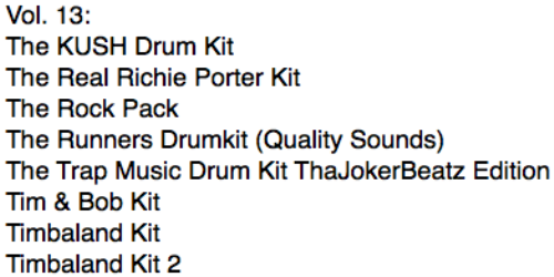 First Additional product image for - Ultimate Drum Kits vol. 13