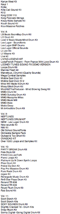 Third Additional product image for - Ultimate Drum Kits vols. 1 to 15
