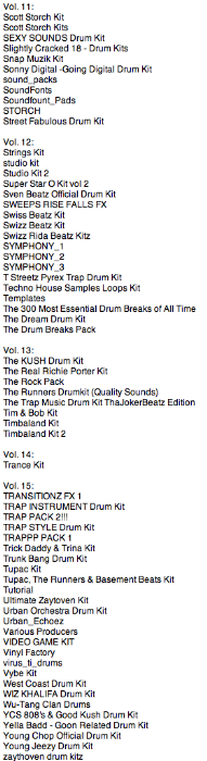 Fourth Additional product image for - Ultimate Drum Kits vols. 1 to 15