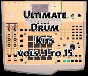 Ultimate Drum Kits vols. 1 to 15 | Music | Soundbanks