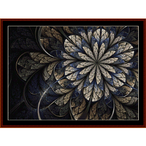 Fractal 547 cross stitch pattern by Cross Stitch Collectibles | Crafting | Knitting | Other