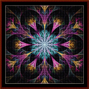 Fractal 549 cross stitch pattern by Cross Stitch Collectibles | Crafting | Cross-Stitch | Wall Hangings