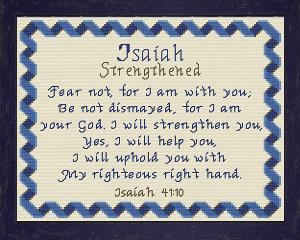 name blessings - isaiah