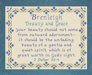 name blessings - brenleigh