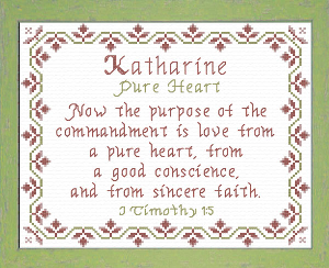 Name Blessings - Katharine | Crafting | Cross-Stitch | Other