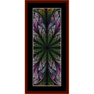 Fractal 545 Bookmark by Cross Stitch Collectibles | Crafting | Cross-Stitch | Other