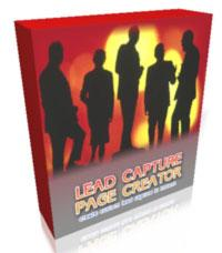 lead capture page generator with resale rights