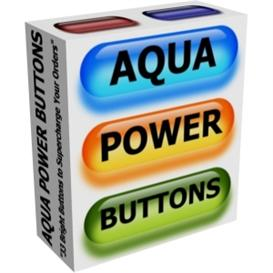 Aqua Power Buttons | Other Files | Patterns and Templates