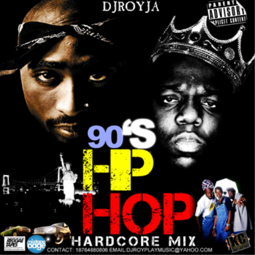 First Additional product image for - Dj Roy 90's Hardcore Hip Hop Mix