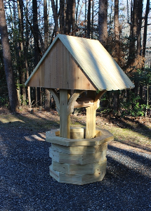 4 ft. wishing well plans