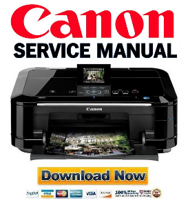Canon Pixma MG6120 Service Manual and Repair Guide | eBooks | Technical
