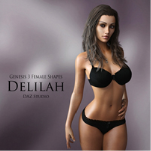 genesis 3 female shapes: delilah