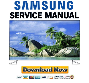 samsung un75f6400 un75f6400cf un75f6400cfxza smart led tv service manual
