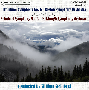 Bruckner: Symphony No. 6; Schubert: Symphony No. 3 - BSO/PSO/William Steinberg | Music | Classical