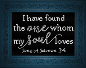 My Soul Loves | Crafting | Cross-Stitch | Religious