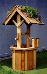 Cedar Wishing Well Plan | Other Files | Arts and Crafts