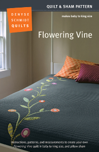Flowering Vine PDF | Crafting | Sewing | Quilting